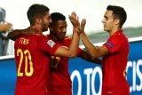 Spanyol gilas Ukraina 4-0 di UEFA League Nations