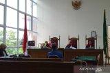 Mantan Wakil Bupati Sijunjung Boy divonis 3 bulan penjara kasus perusakan Kantor Golkar