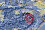 Gempa dengan magnitudo 6,2 mengguncang di Laut Banda