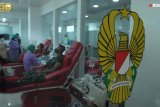 32 perwira TNI ikuti donor plasma darah lanjutan