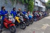 Gelar Sunmori, komunitas klub motor di Manado bersih-bersih pantai Tasik Ria
