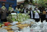 BNN musnahkan barang bukti 238 kg sabu-sabu dan 404 kg ganja
