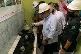 Sebanyak 5.077 warga Pekanbaru di tiga kecamatan dialiri gas kota