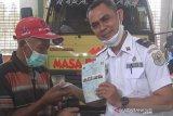 Dishub mulai gunakan program Sim Card BLUe di Kapuas