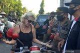 Puluhan WNA terjaring sidak masker di wilayah Badung