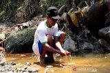 Warga Soropadan Temanggung keluhkan limbah pabrik tekstil cemari Sungai Elo