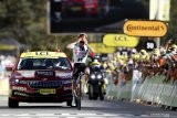 Mark Hirschi catatkan kemenangan etape pertamanya di Tour de France