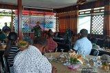 Pendam XVII/Cenderawasih gelar silaturahim dengan insan pers Jayapura
