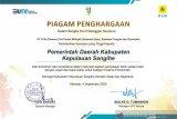 Pemkab Sangihe terima piagam penghargaan dari PLN