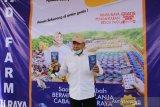 Bupati OKU resmikan pasar  online Lubuk Batang