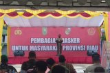 630 ribu masker untuk masyarakat Riau