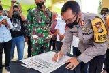 Bakal calon bupati di Majene deklarasikan kepatuhan protokol kesehatan