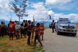 Lima orang terluka terkena anak panah saat perang antarkampung di Jayawijaya