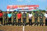 Kodam XVII/Cenderawasih gelar turnamen sepak bola usia 12-14 tahun