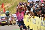 Dani Martinez mencatatkan kemenangan etape pertamanya di Tour de France