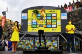Klasemen sementara Tour de France setelah etape ke-13