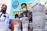BNNP Kalteng musnahkan 400 ribu obat zenith senilai Rp4,8 miliar