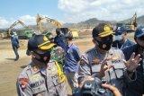 800 aparat kawal pengosongan tiga lokasi lahan di Sirkuit MotoGP KEK Mandalika