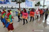 Bandara Ahmad Yani Semarang kampanyekan Terbang Aman dan Sehat