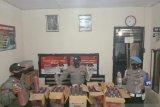 Bawa ratusan botol miras menuju Sumbawa, bus Surya Kencana diamankan polisi di Pelabuhan Khayangan