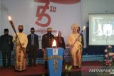 Peringatan HUT ke-75 LPP RRI di Makassar dengan protokol kesehatan ketat