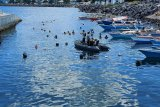 Lantamal VIII bersih-bersih bawah laut di kawasan Megamas Manado