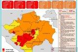 Zona merah COVID-19 di Sumsel bertambah tiga wilayah