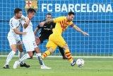 Lionel Messi jadi kapten Barcelona saat menang 3-1 pada laga persahabatan