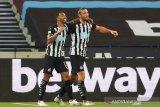 Newcastle bawa tiga poin dari markas West Ham setelah menang 2-0