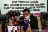 KPU Sultra: bapaslon tidak lolos tes kesehatan dapat diganti
