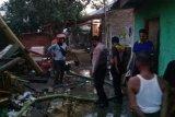 Rumah Panggung di Desa Tanak Awu Terbakar
