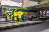 Operasional bus di Giwangan Yogyakarta mencapai 50 persen