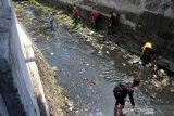 121 pelanggar protokol kesehatan di Solo dihukum bersihkan sampah di sungai