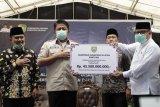 Gubernur Sumsel salurkan Bangub Rp45,5 miliar  ke Kabupaten OKI