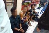 Polisi Pariaman tangkap lima pencuri dan dua penadah motor