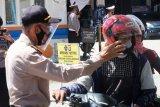 Polda Sulbar razia warga yang tidak patuhi protokol kesehatan