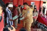 Gubernur serahkan ratusan Sertifikat PTSL warga Minahasa