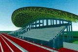 Bukit Asam kucurkan Rp128 miliar bangun GOR dan fasilitas umum di Sumatera Selatan