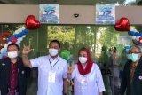Pasangan Hendi-Ita tes kesehatan di RS Kariadi Semarang