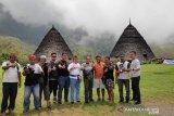 Penerapan prokes di Wae Rebo dilakukan secara ketat