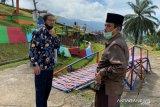 Bupati Sijunjung instruksikan Dinas PUPR segera perbaiki jalan taman Bukik Gadang
