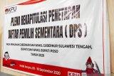 KPU Poso  tetapkan DPS pilkada 152.172 jiwa