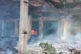 Orang gila diduga bakar GOR Saburai Bandarlampung