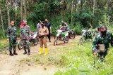 TMMD 109 di Barito Timur bangun jalan di desa ini