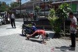 Tim gabungan razia masker cegah COVID-19 di Boyolali