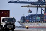 Presiden Jokowi ingin pengembangan pelabuhan utama saling melengkapi