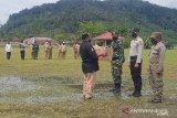 Kodim 1702 tempatkan personel di jalan trans Papua bantu tim COVID-19