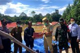 Bupati tinjau desa terdampak banjir di Lamandau