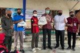 BPJAMSOSTEK Palembang salurkan 1.271 paket sembako ke PT Interbis