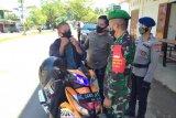40 warga Kabupaten Mamuju terjaring operasi yustisi penegakan protokol kesehatan